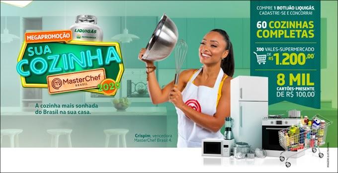 Participe da mega promoção Liquigás, sua cozinha MasterChef e concorra a milhares de prêmios