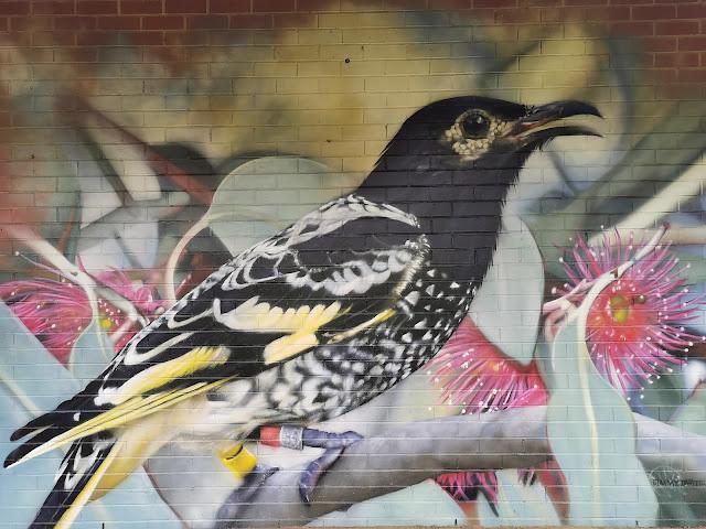 Street Art in Chiltern by Jimmy Dvate