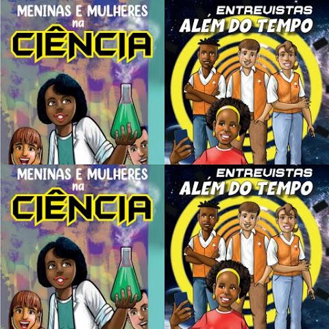 HQs abordam protagonismo de pessoas negras na ciência e são mais um recurso para implementar a Lei 10.639/2003 na sala de aula