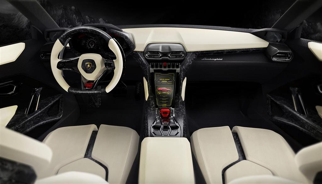 Hot Cars Lamborghini Urus Concept Interior Wallpaper Inside