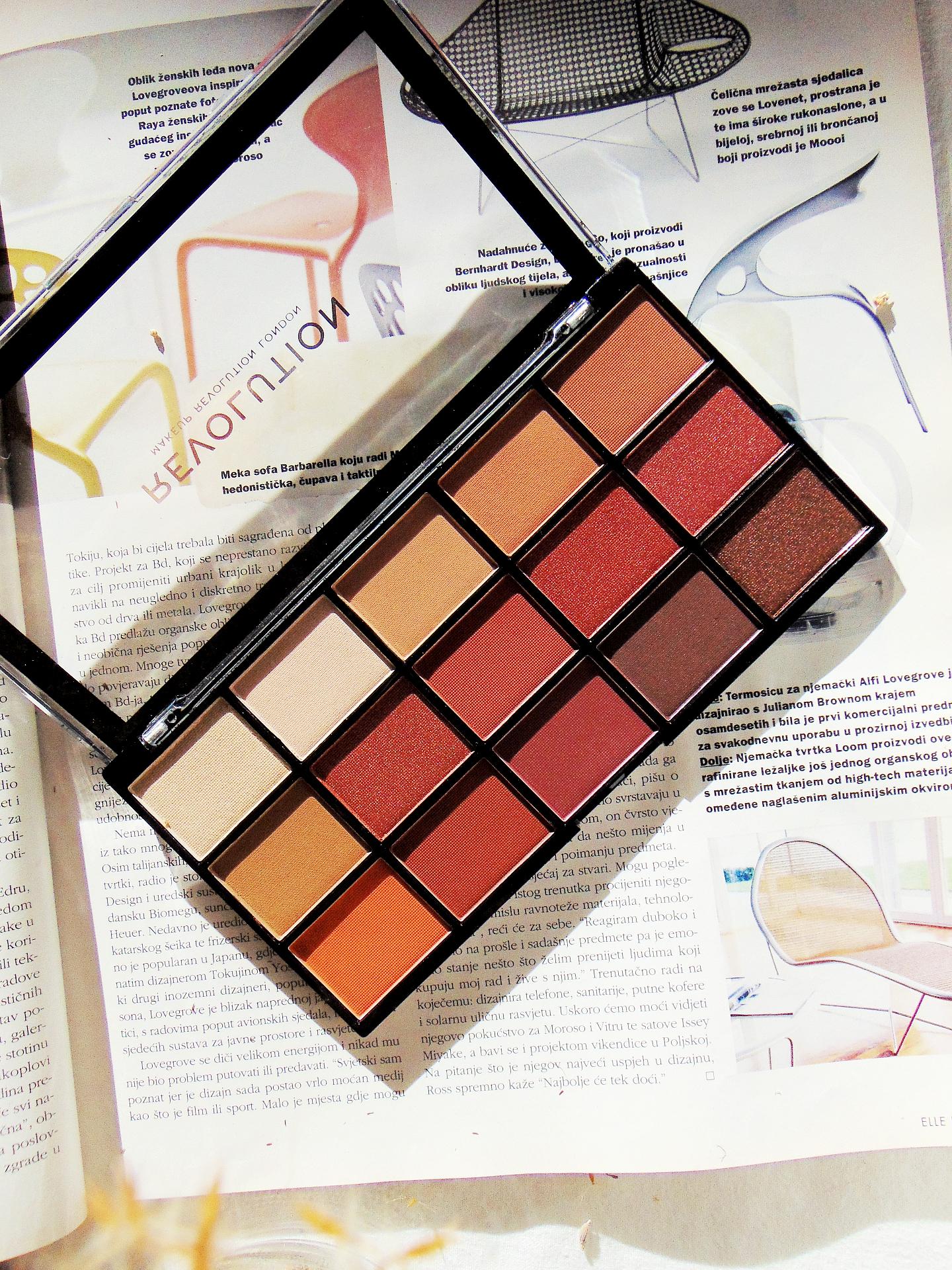 Makeup Revolution London Reloaded Palette Iconic Fever Honest Review