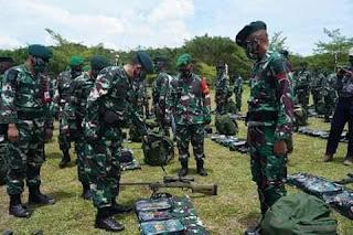 Militer Indonesia (TNI) Melakukan Misi Operasi Di West Papua
