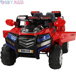 Xe ô tô điện trẻ em BBH-918 kiểu xe Jeep mạnh mẽ tại BabyPlaza