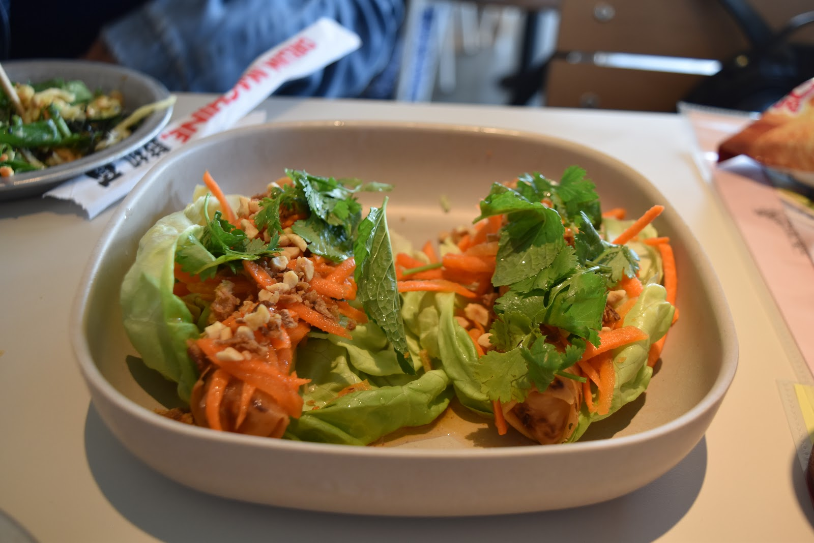 Spring Roll Lettuce Wrap at Tin Drum Asian Kitchen