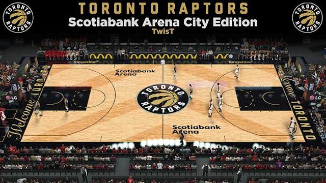 NBA 2K19 Toronto Raptors Scotiabank Arena