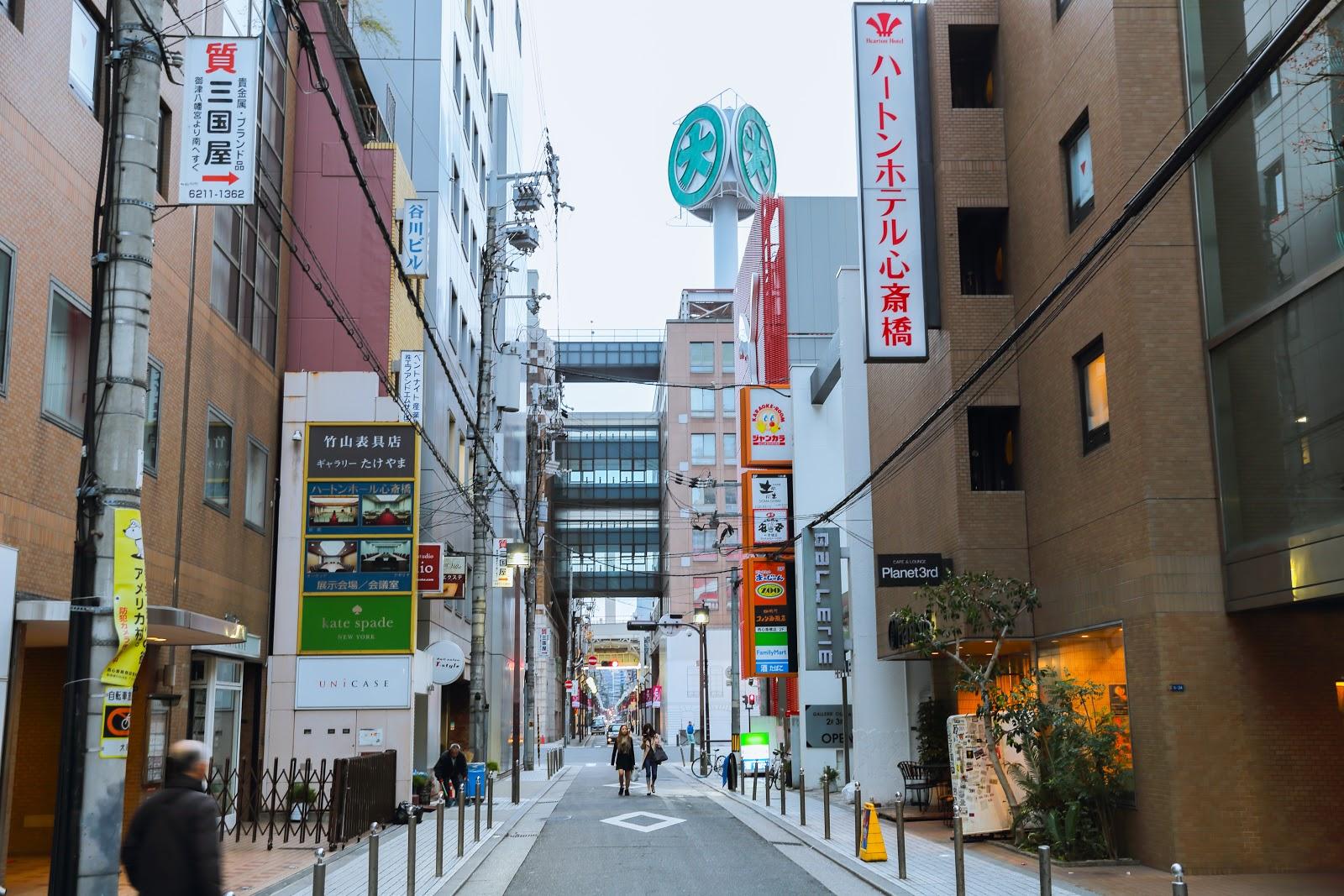HEARTON HOTEL SHINSAIBASHI心齋橋哈頓飯店-第一次日本關西京阪奈自由行旅(四)