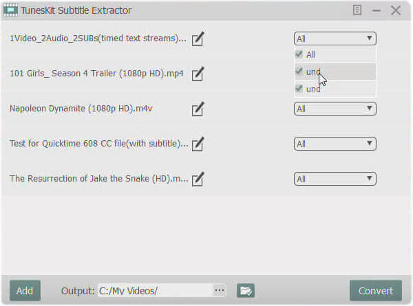 Complete Tutorial on How to Extract Subtitles from iTunes M4V Videos
