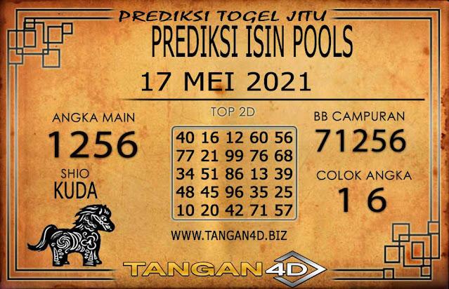 PREDIKSI TOGEL ISIN TANGAN4D 17 MEI 2021