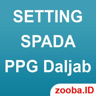 Setting Spada PPG Dalam Jabatan