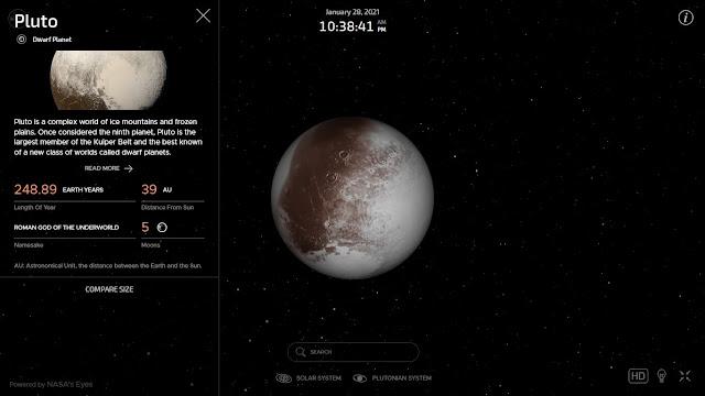 Pluto Bukan lagi sebagai planet,kenapa?
