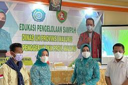 Widya Murad Ismail Sosialisasi Pengelolaan Sampah di SBT