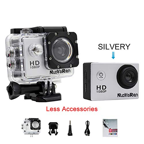 AMAZON - Action Camera 1080P 12MP Sports Camera Full HD