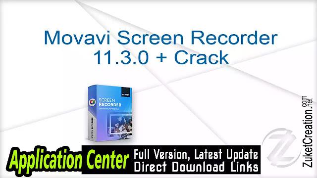Movavi Screen Recorder 11.3.0 + Crack