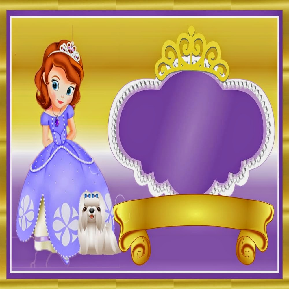 Princess Sofia the First Free Printable Kit. | Oh My Fiesta! in english
