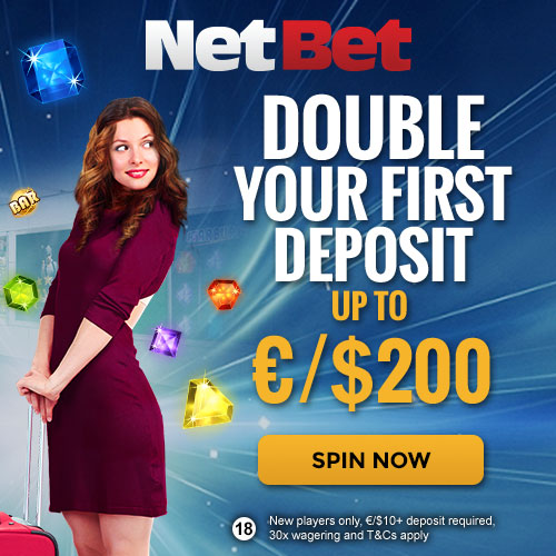 Netbet Casino Welcome Offer
