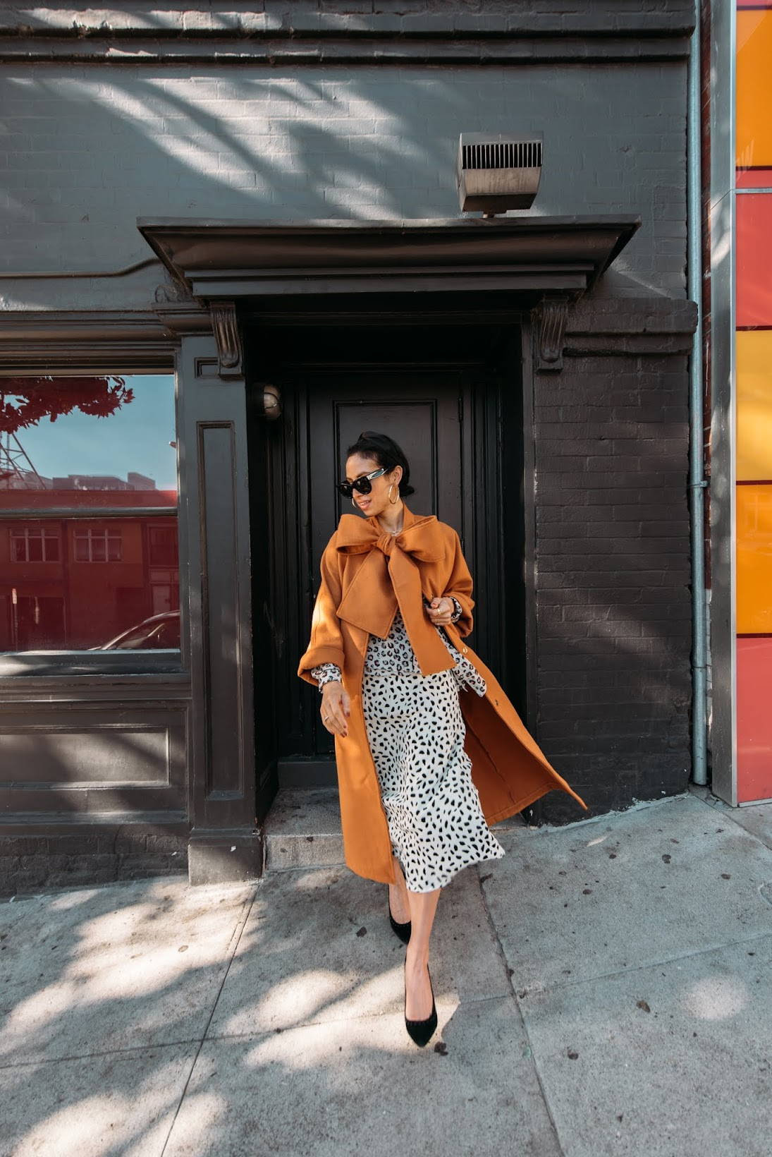 leopard looks, french girl style, San Francisco, City girl style, Parisian style
