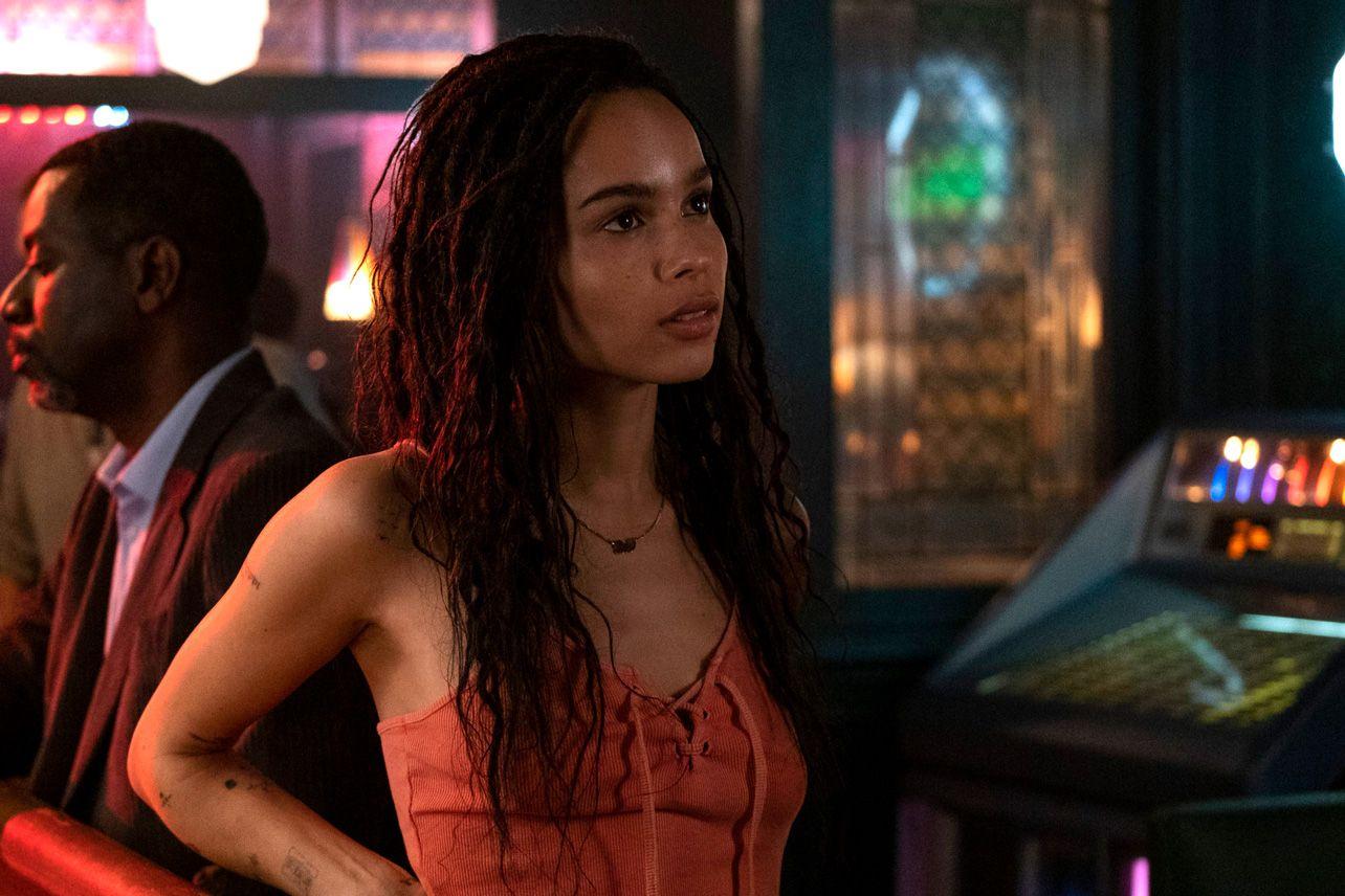 Zoe Kravitz en una escena de 'High Fidelity', de Hulu y Starzplay