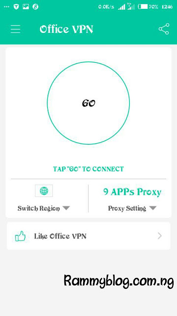 9Mobile Via Office VPN