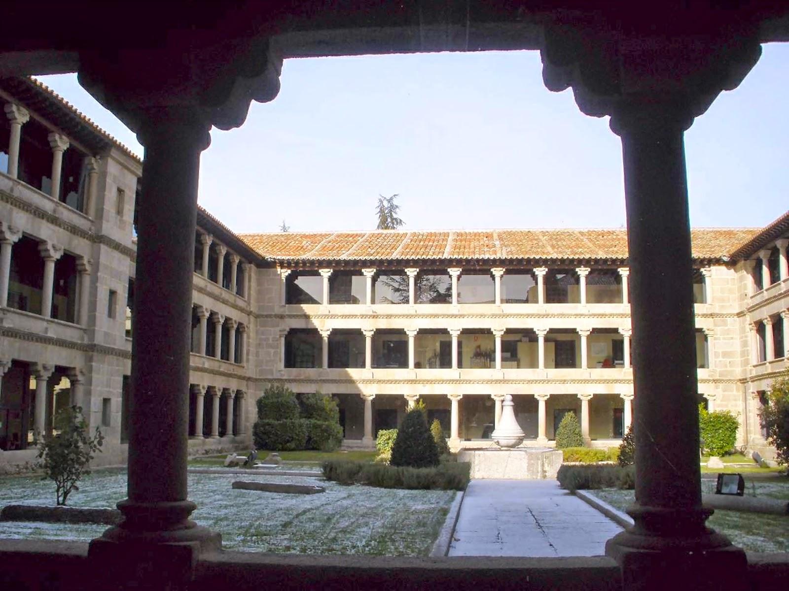 Buscando Montsalvatge: ÁVILA. Monasterio de Santa Ana