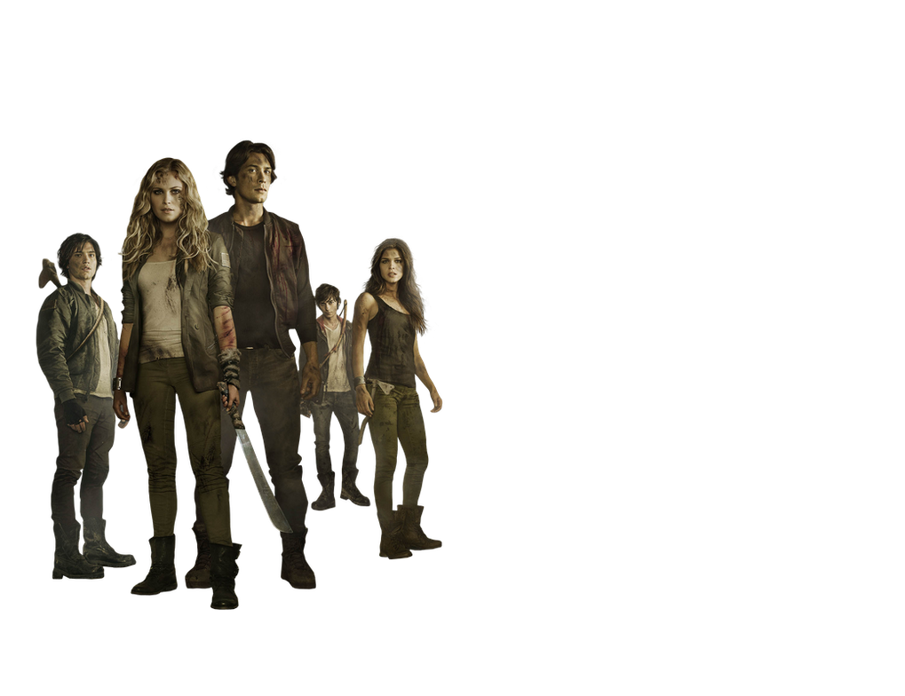 THE 100 BY  Andie-Mikaelson