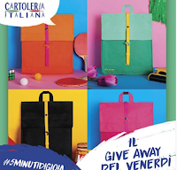 Logo Cartoleria Italiana : gioca e vinci gratis 4 zaini Natwee