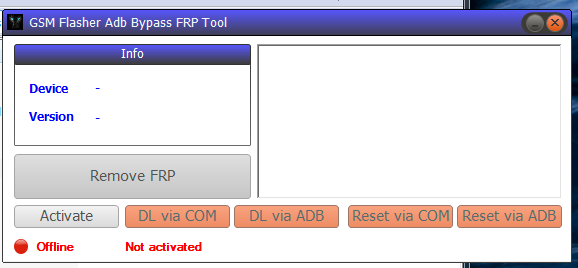GSM Flasher Tool Full Crack Setup 2018/2019 (ADB Bypass FRP