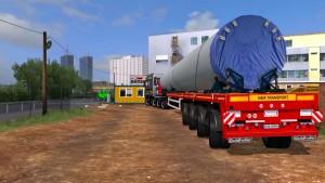 Goldhofer Flatbed v 5.0 trailer mod