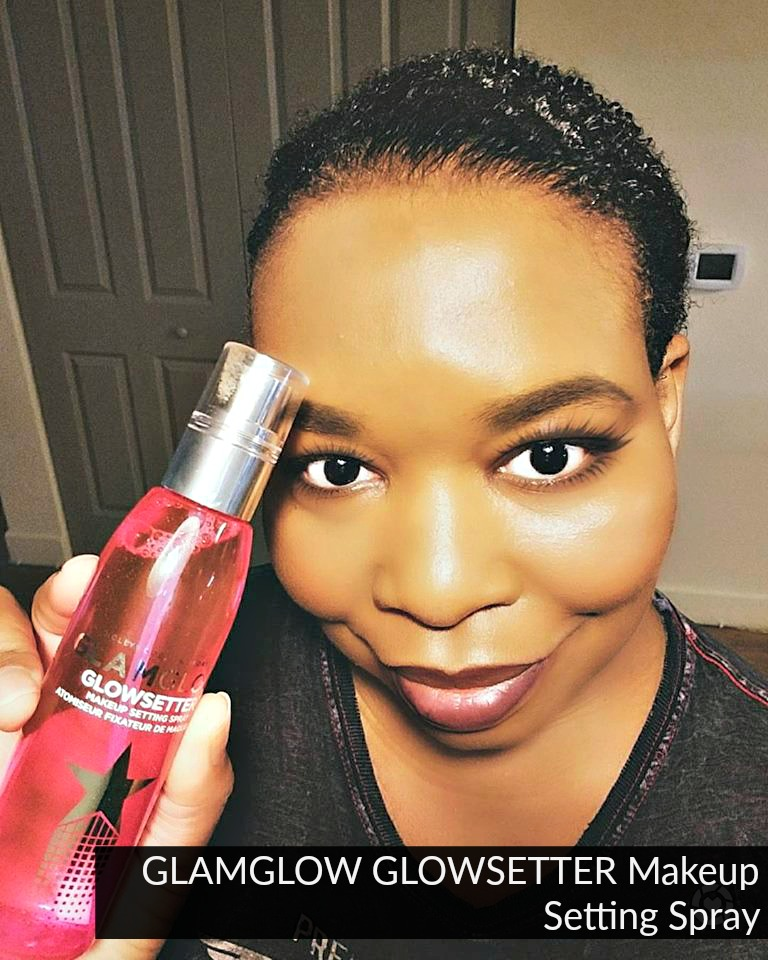 Click here to buy GLAMGLOW GLOWSETTER Makeup Setting Spray to keep your face shine-free