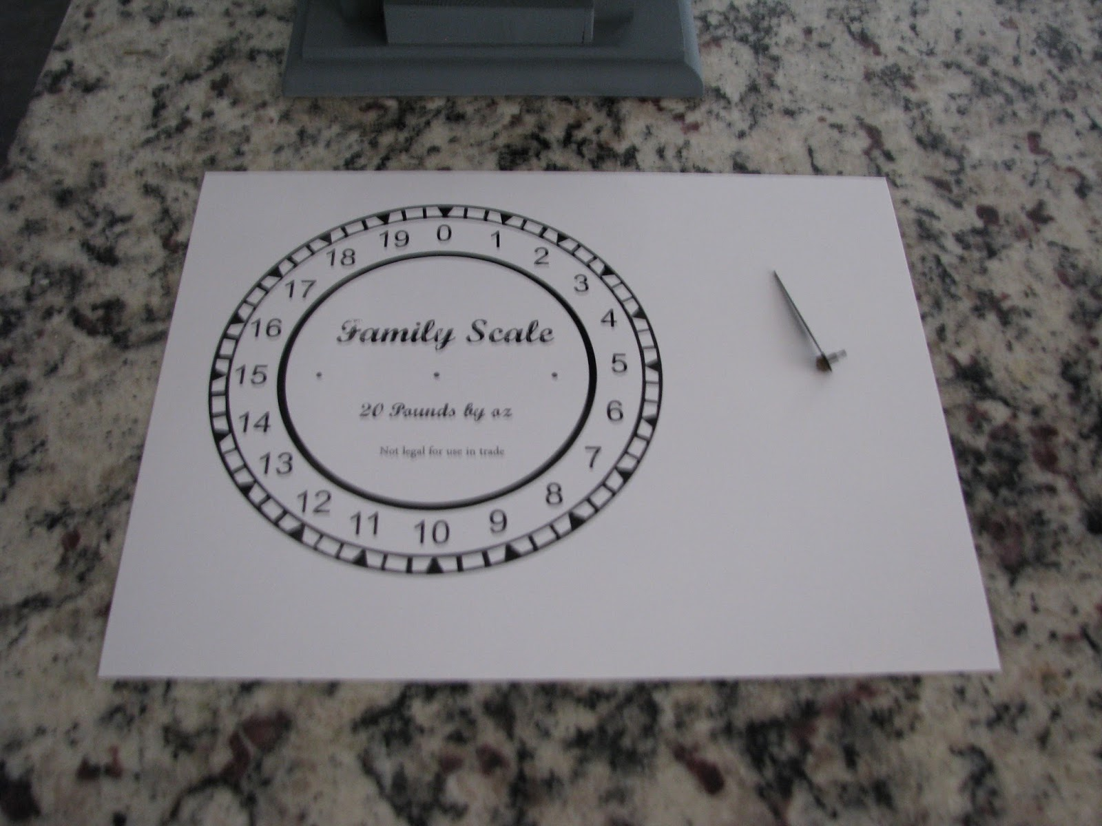 My So Called Diy Blog Faux Antique Scale Free Printable