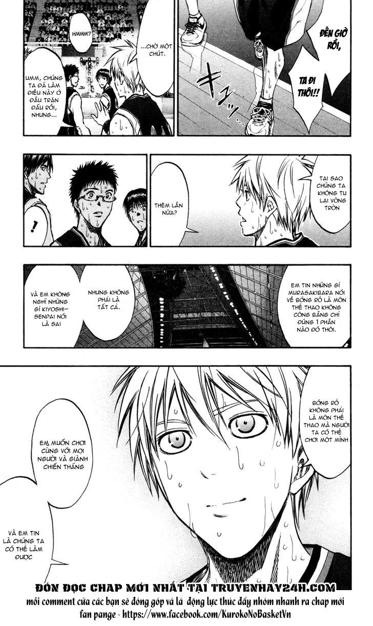 Kuroko No Basket chap 160 trang 14
