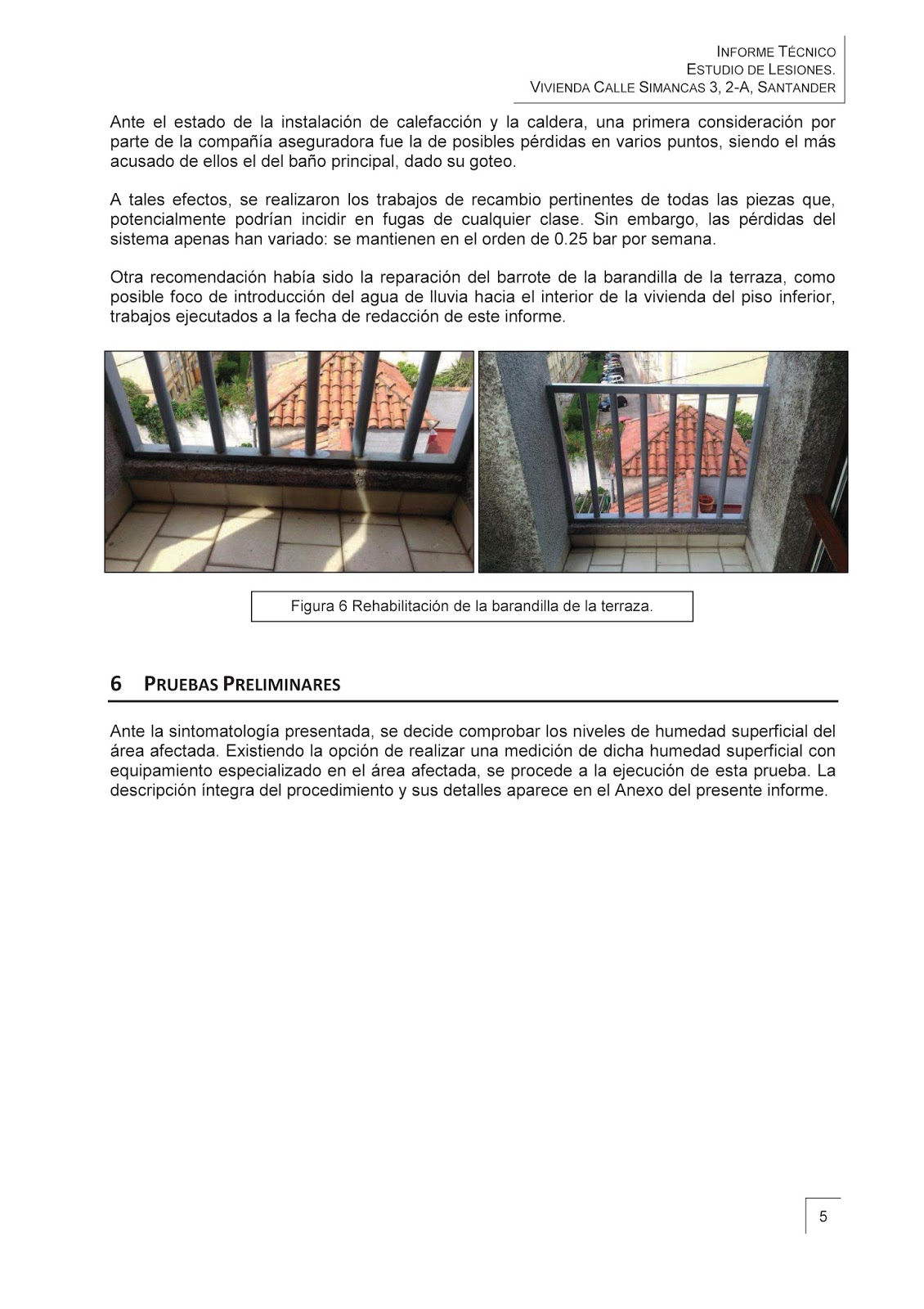 Some Projects Technical Report Brief Of Damages In