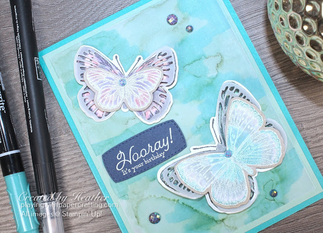 butterfly brilliance with alcohol blend 3
