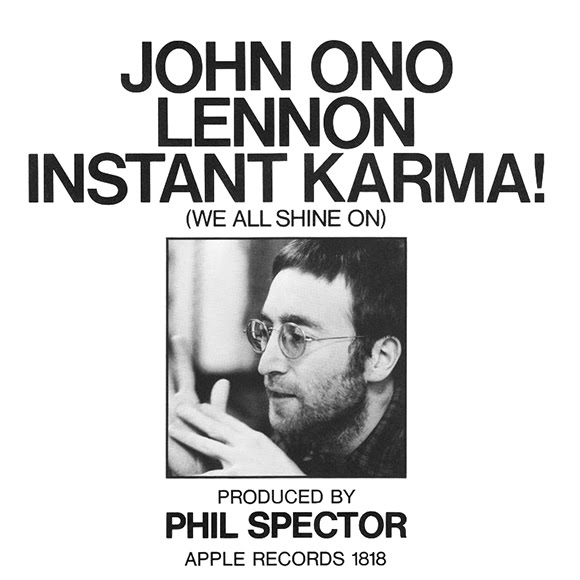 «Instant Karma! (We All Shine On)» : brillance cosmique de John Lennon