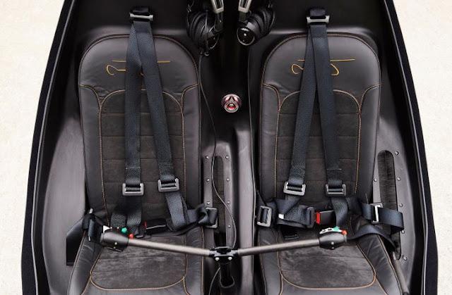 Dynali H3 Sport interior