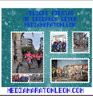 Feliz Navidad Media Maraton Leon