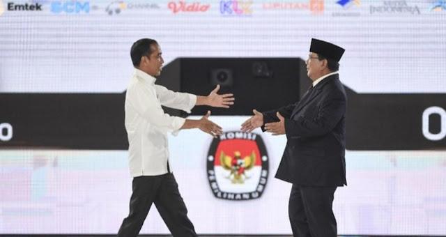 'Hilal' Pertemuan Jokowi-Prabowo akan Tampak, tapi Terhalangi Awan