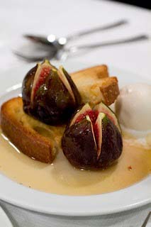 North African Recipe Salted Figs with Honey