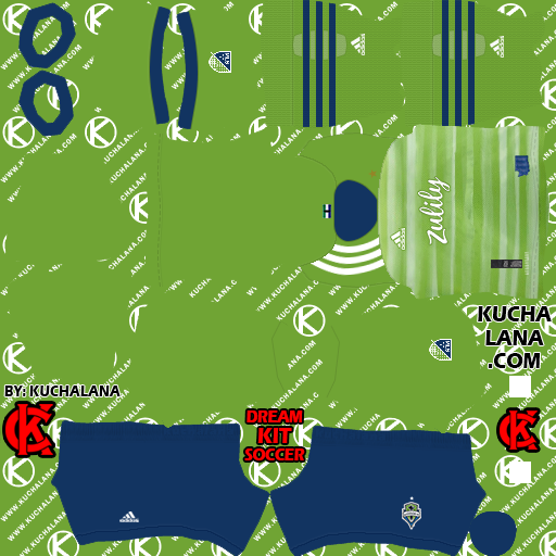 Seattle Sounders FC 2020 Kit - DLS20 Kits