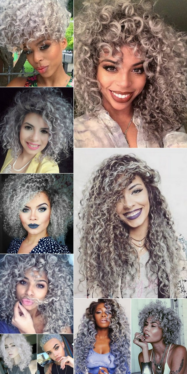 @ohlollas Cabelos Cacheados Coloridos e Descoloridos: ruivo, platinado, cores fantasia, mechas, luzes, ombré hair e californianas. Platinum, ginger and colored curly hair. Natural hair, cabelo natural 2017 2018