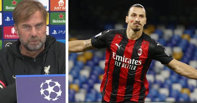 Klopp previews Ibrahimovic threat ahead of AC Milan clash