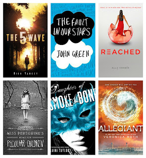 Six Young Adult Book Suggestions