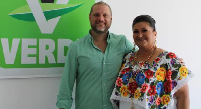 Carmen Navarrete va por una diputación federal con el PVEM