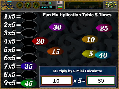 Multiplication Table 5 Times