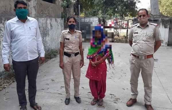 faridabad-news-in-hindi-sainik-colony-police-chowki-missing-girl-case