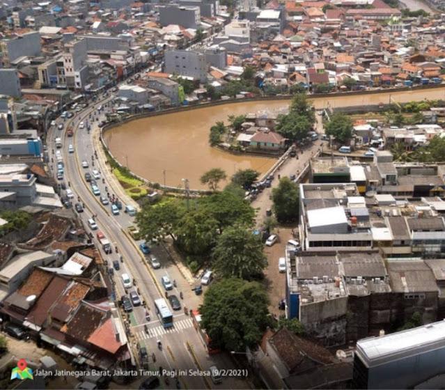 """DKI """"Pamer"""" Genangan dan Banjir yang Menerjang Dapat Dikendalikan"""