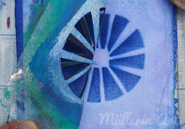 Sonnendruck, sunprint ©Müllerin Art