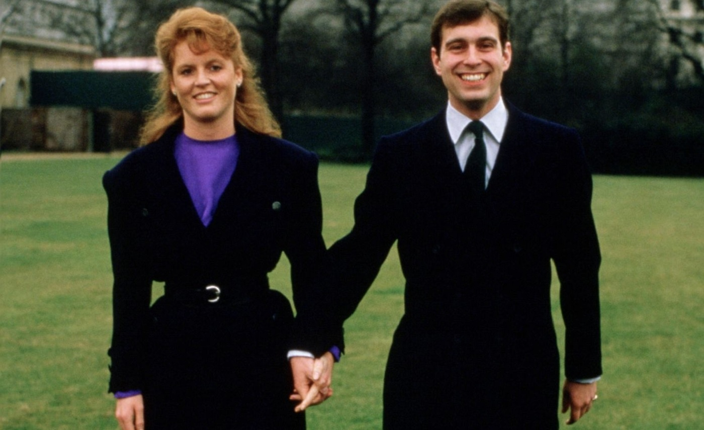 OTD in HIstory - The Engagement of Prince Andrew and Sarah Ferguson