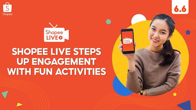 Shopee Levels Up Engagement on Shopee Live this 6.6-7.7 Mid-Year Sale with Bida Sa Pagalingan, Stream & Win, and Suki Marathon