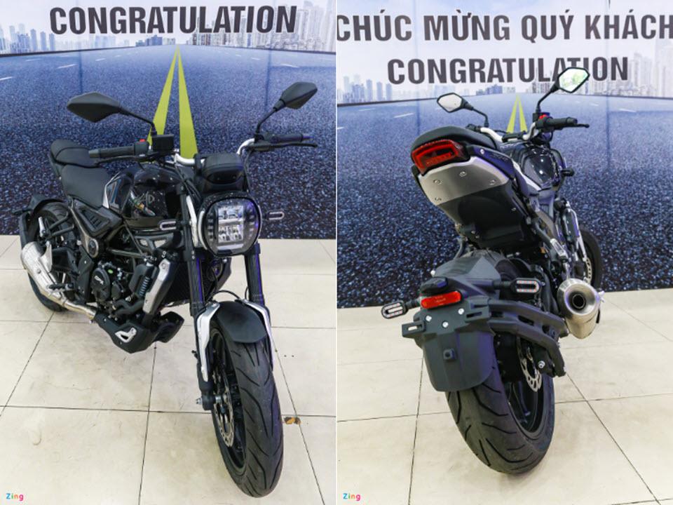 Chi tiết nakedbike GPX MAD 300 giá 75 triệu đồng, đối thủ Honda CB300R