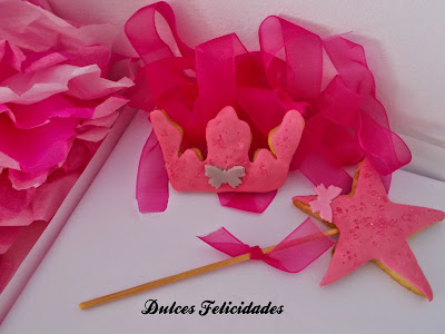 Galletas set princesa fondant